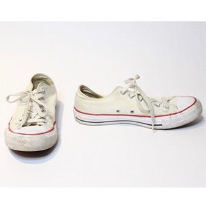 Vintage Classic All Star Converse Red White Navy